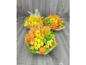Mini košíček-kuřátka