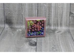 Mýdlo přírodní 100g-hrozno a borůvka