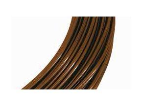Farbiger aluminiumdraht 2mm brown