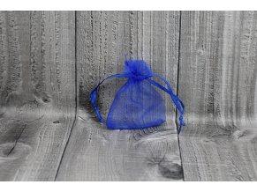 Sáček šifon-tmavě modrý