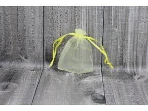 Sáček šifon-světle žlutý