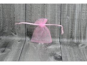 Sáček šifon-světle růžový