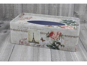 Krabice na kapesníky-Paříž