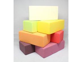 Aranžovací hmota barevná 23x11x8 cm