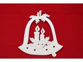Dřevěné dekorace zvonek