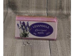 Mýdlo glycerínové-levandule