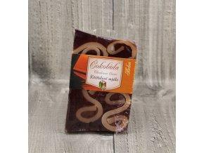 Mýdlo křišťálové velké čokoláda
