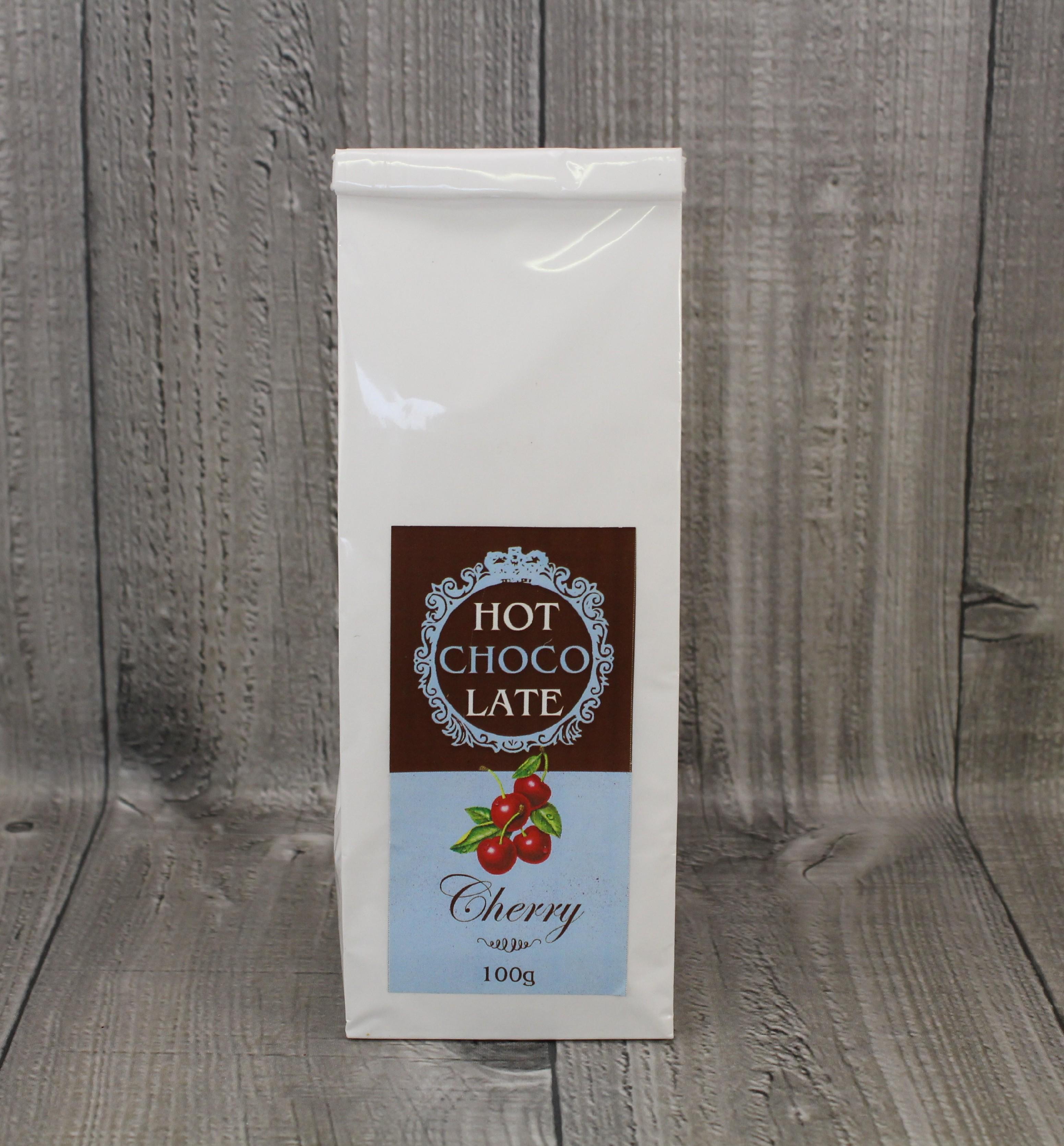 Horká čokoláda cherry