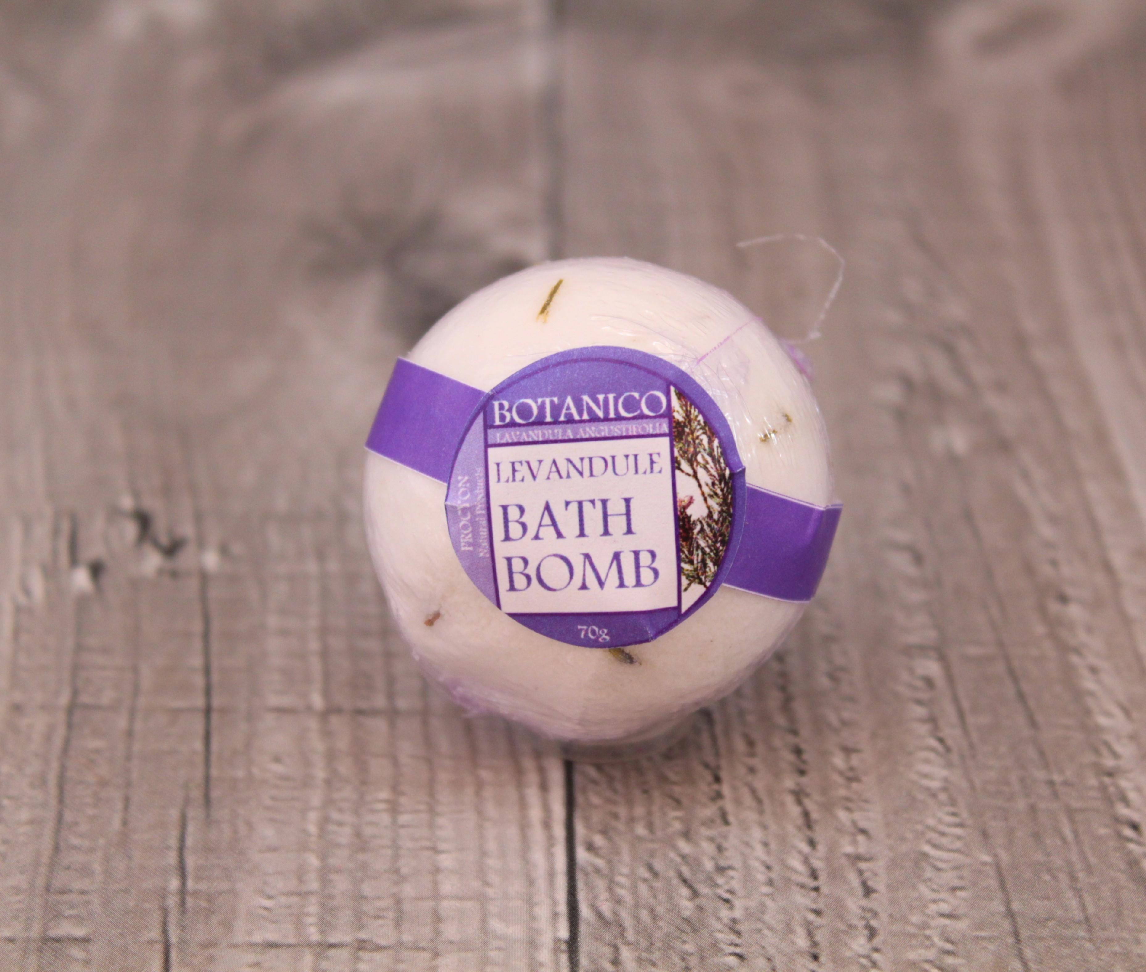 Sůl do koupele-levandule