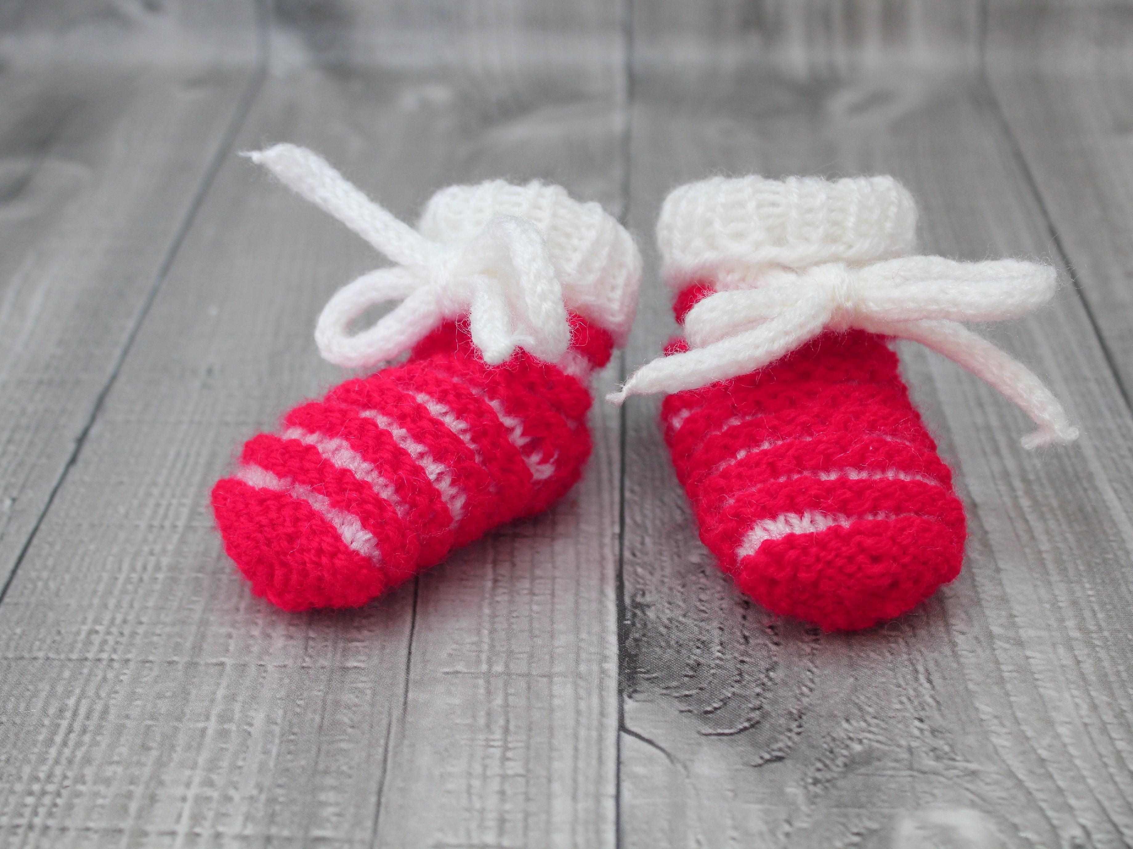 Bačkůrky mimi dvoubarevné červené