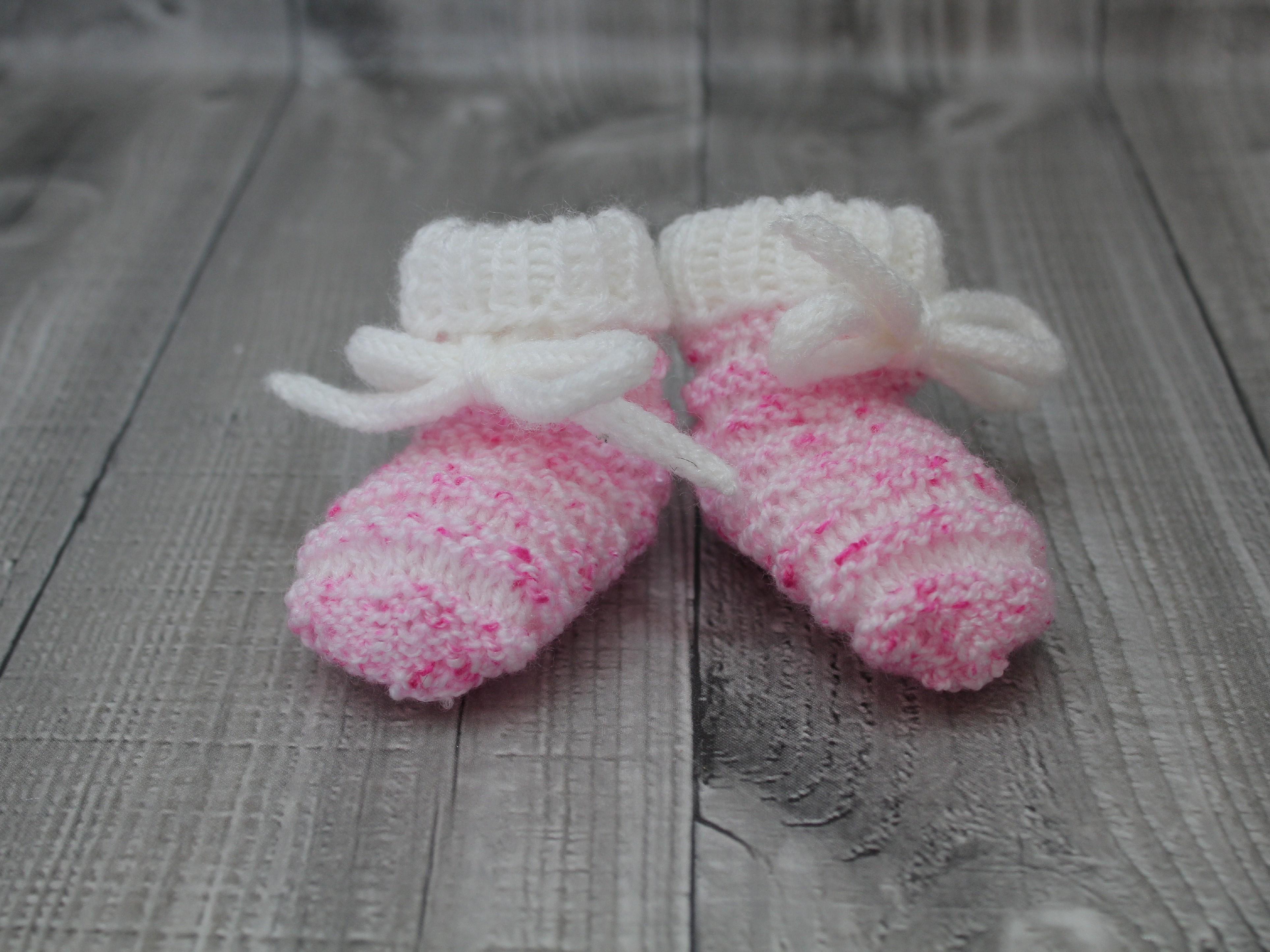 Bačkůrky mimi dvoubarevné růžové žíhané