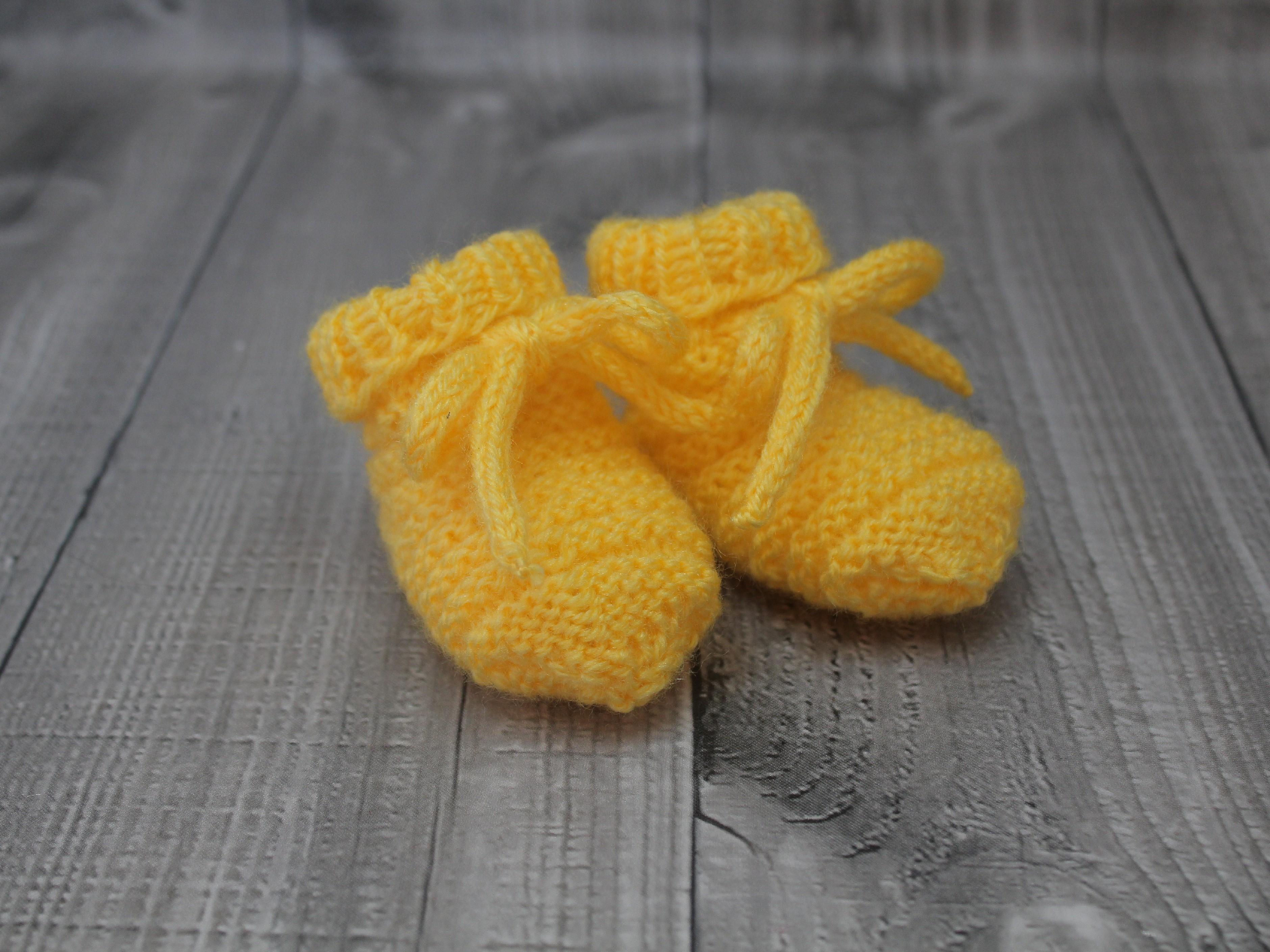 Bačkůrky mimi jednobarevné žluté