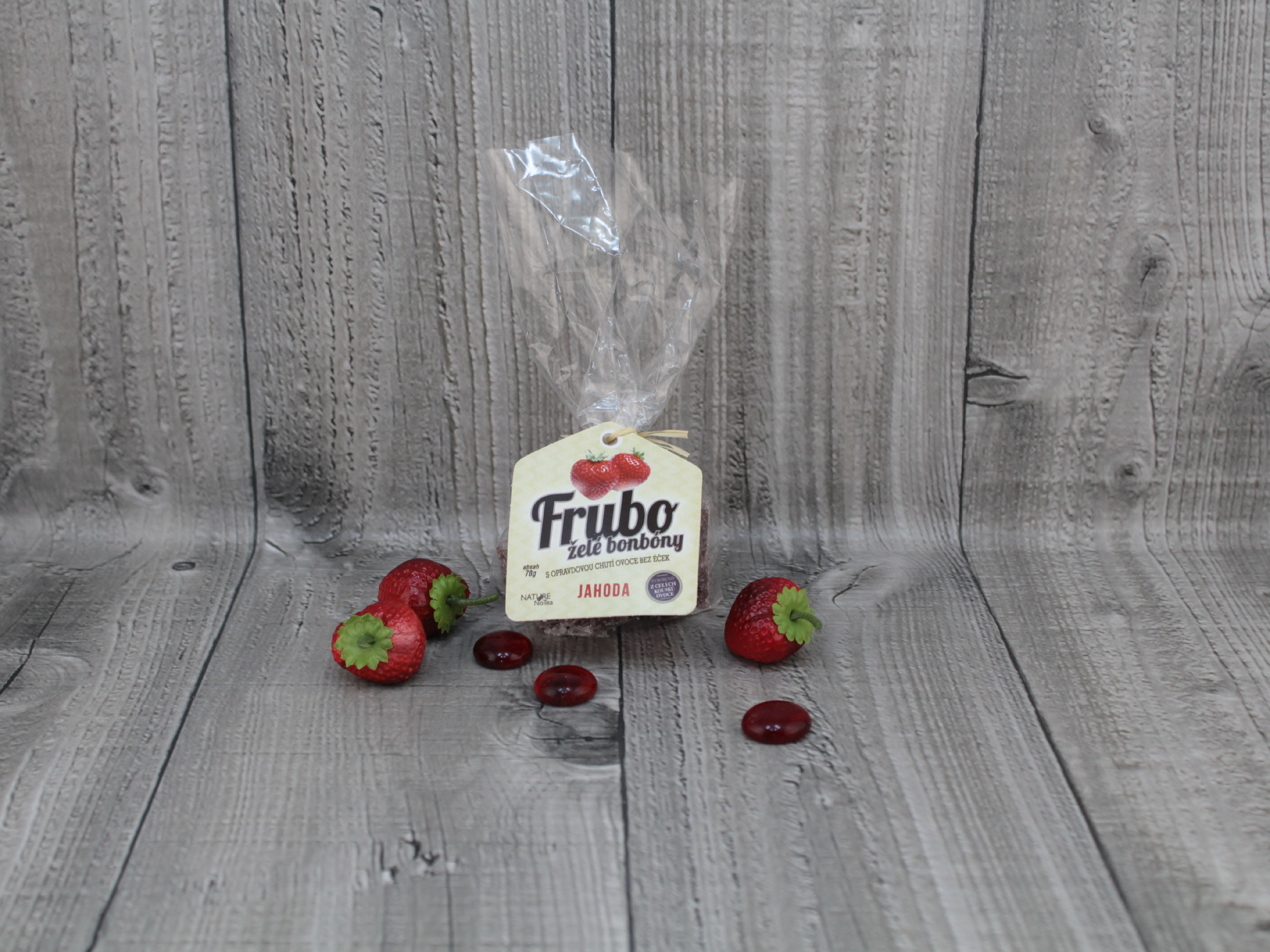 Želé bonbóny jahoda