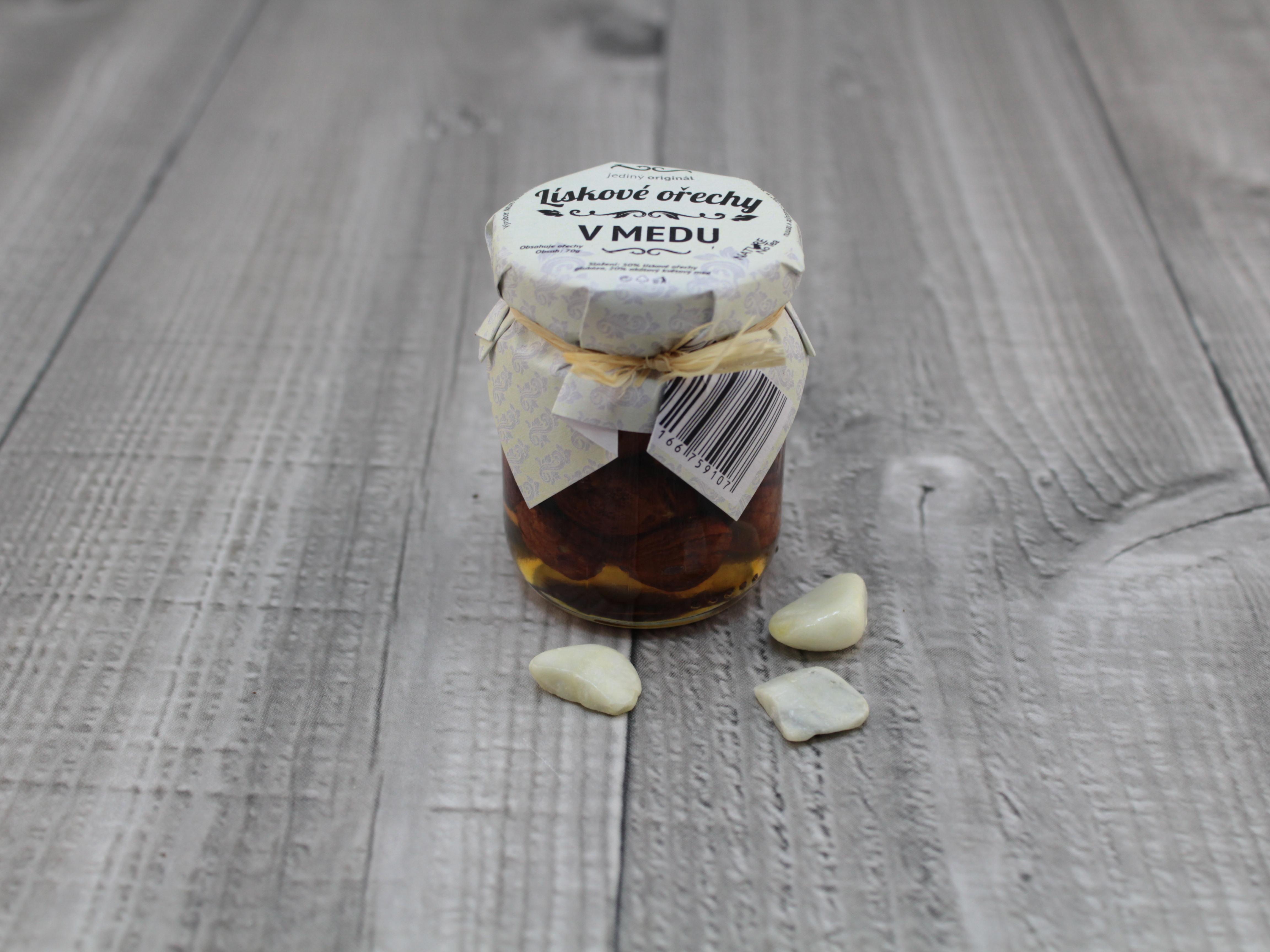 Med lískové ořechy 70g