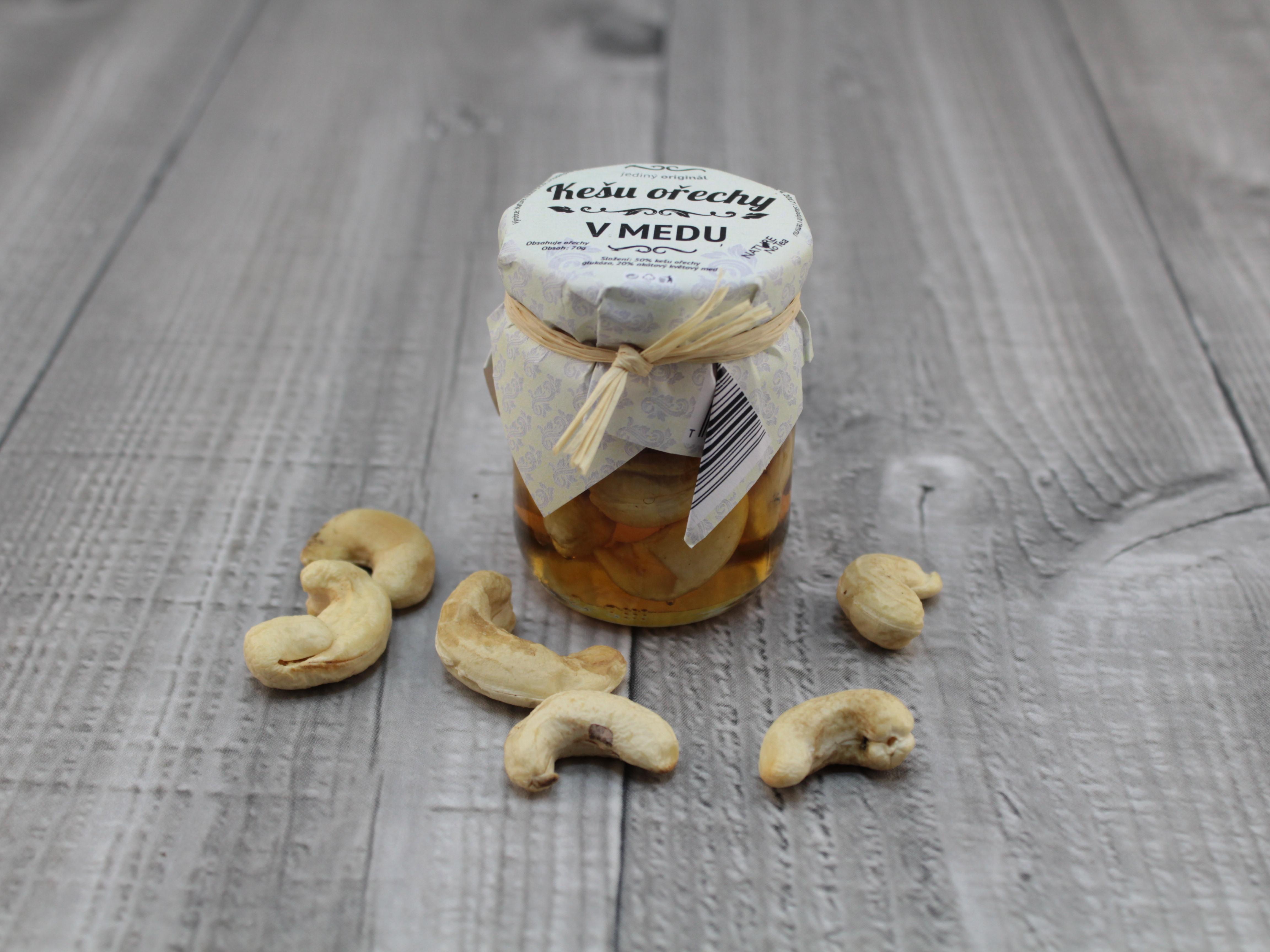 Med kešu ořechy 70g