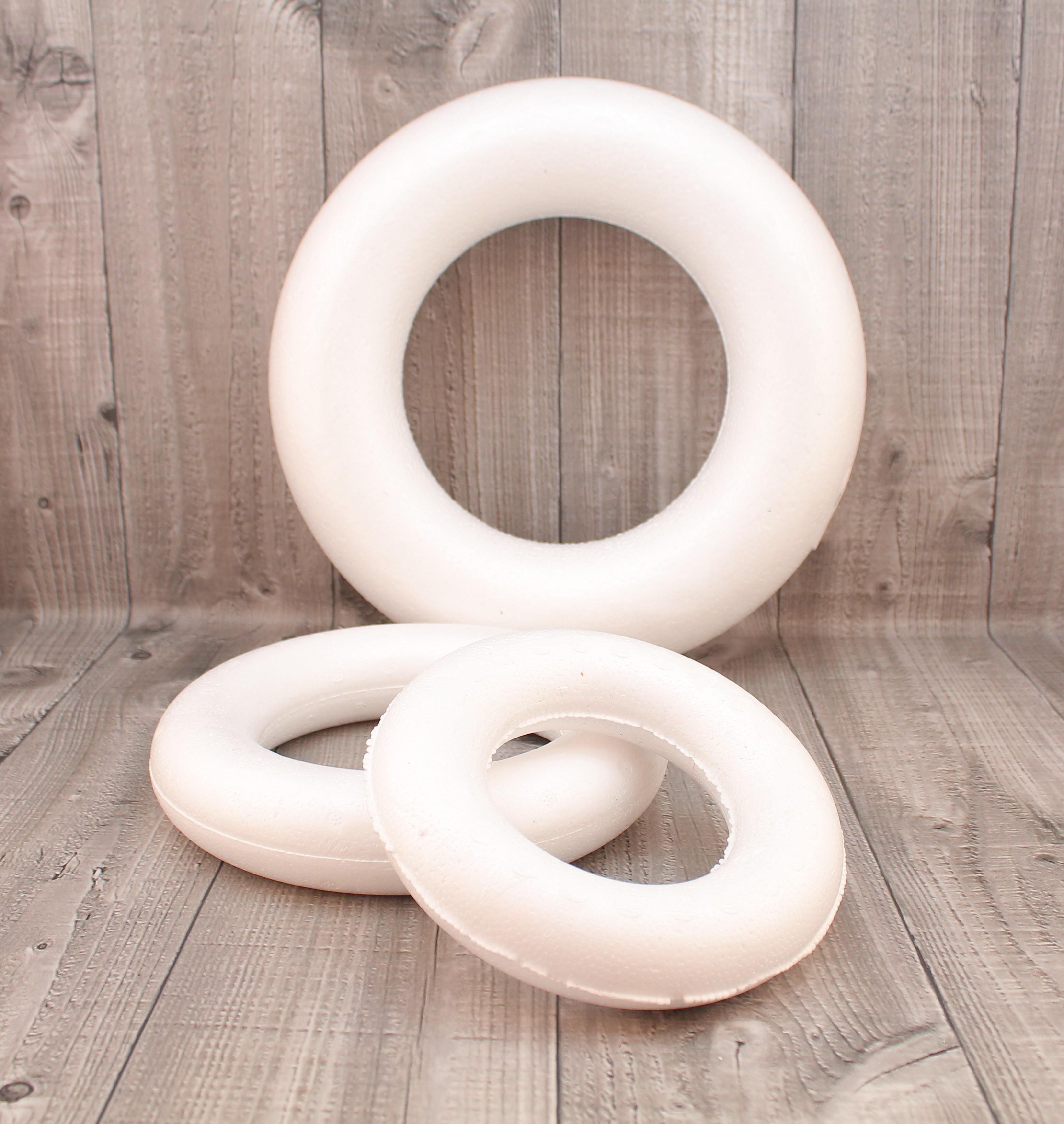 Polystyrenové věnce rozměr,tvar: 15 cm