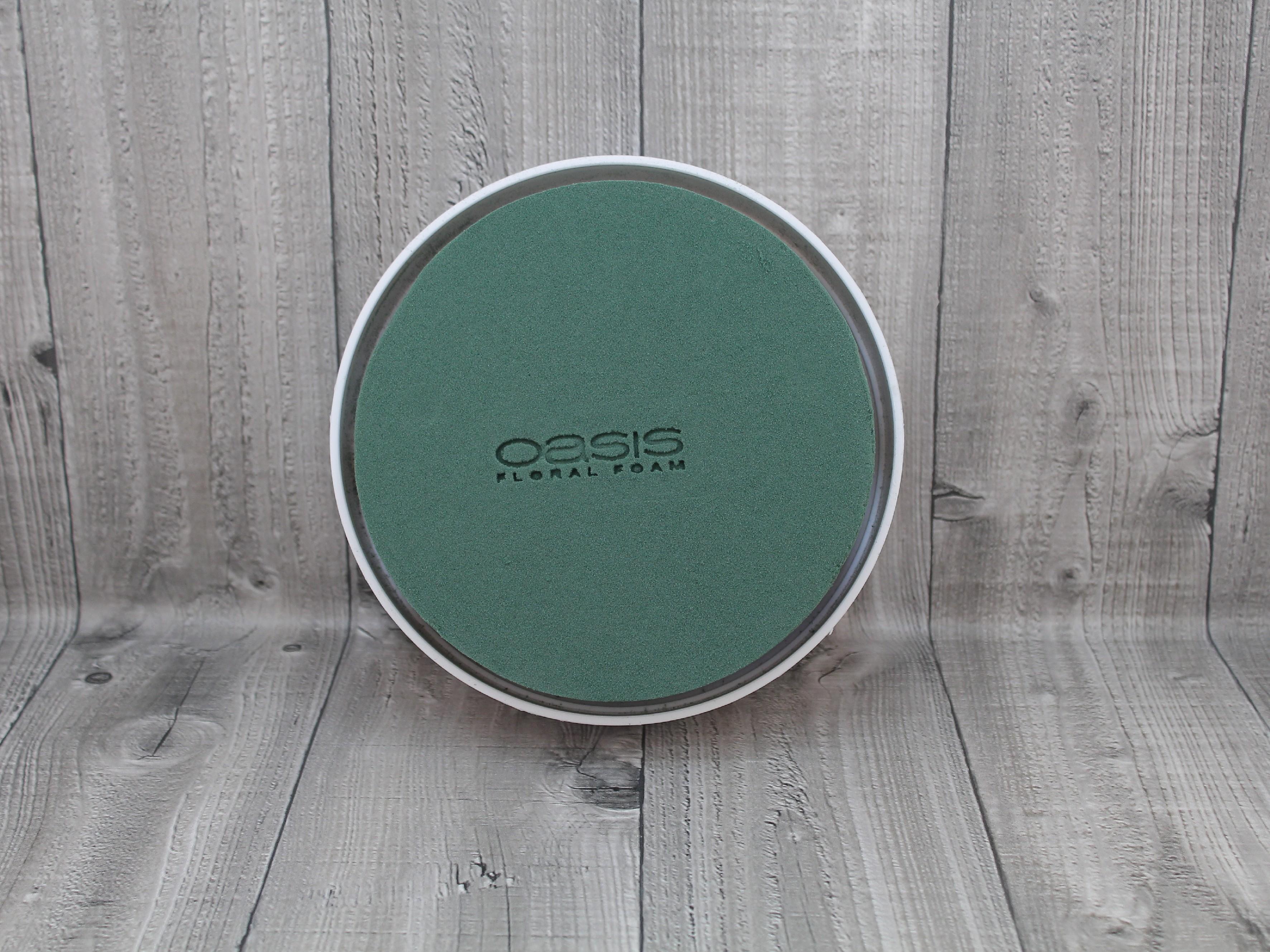 Aranžovací hmota v misce kruh malý