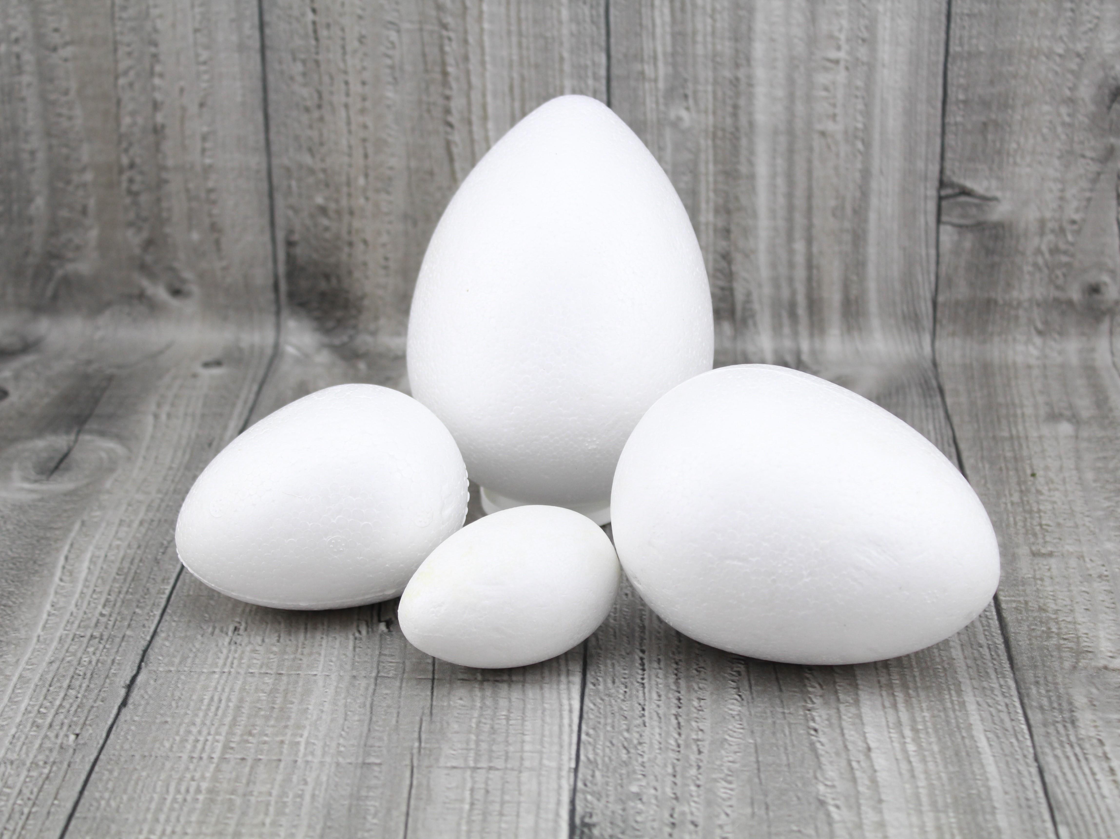 Polystyrenové vejce rozměr,tvar: 6cm