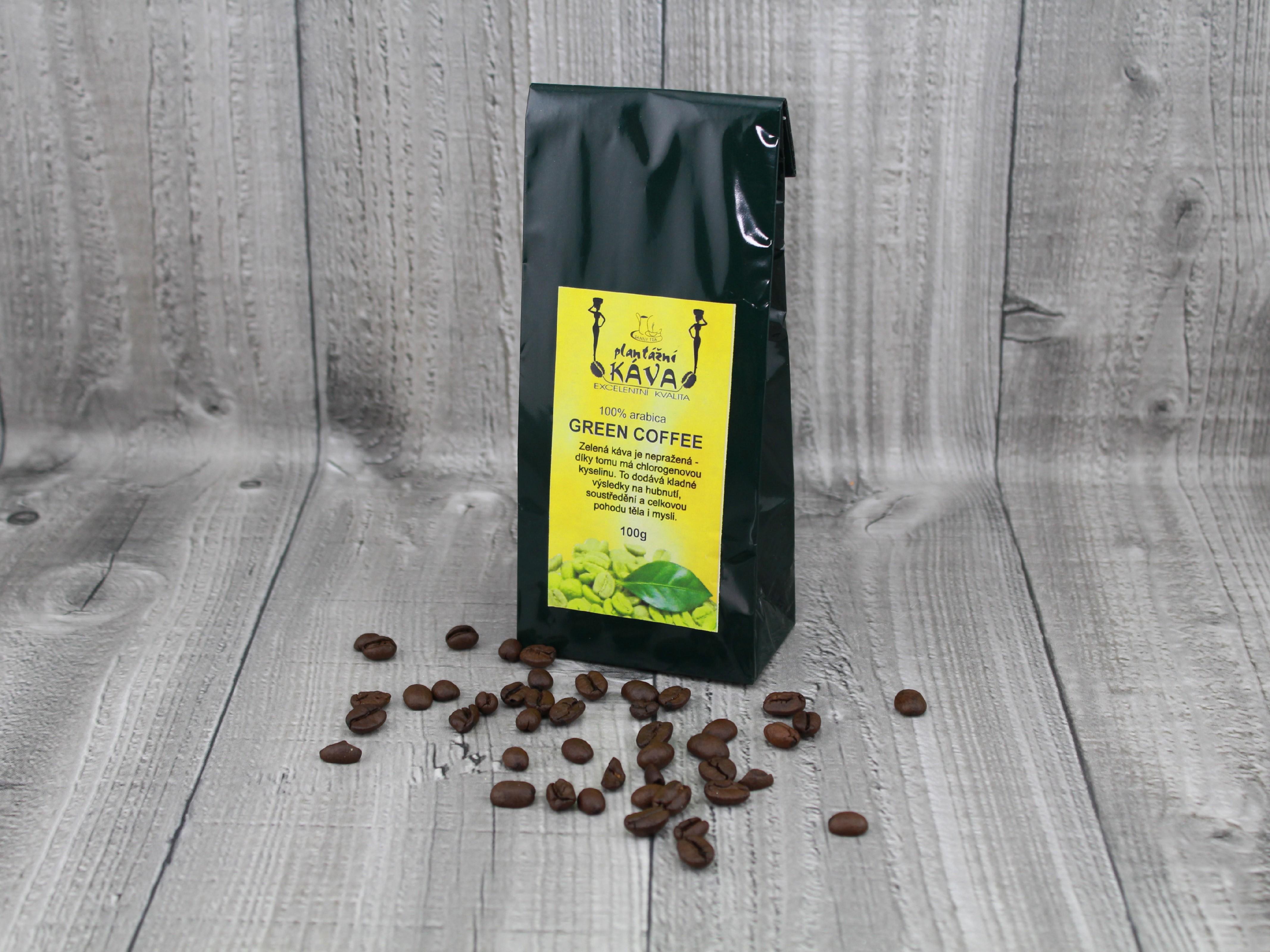 Káva zelená