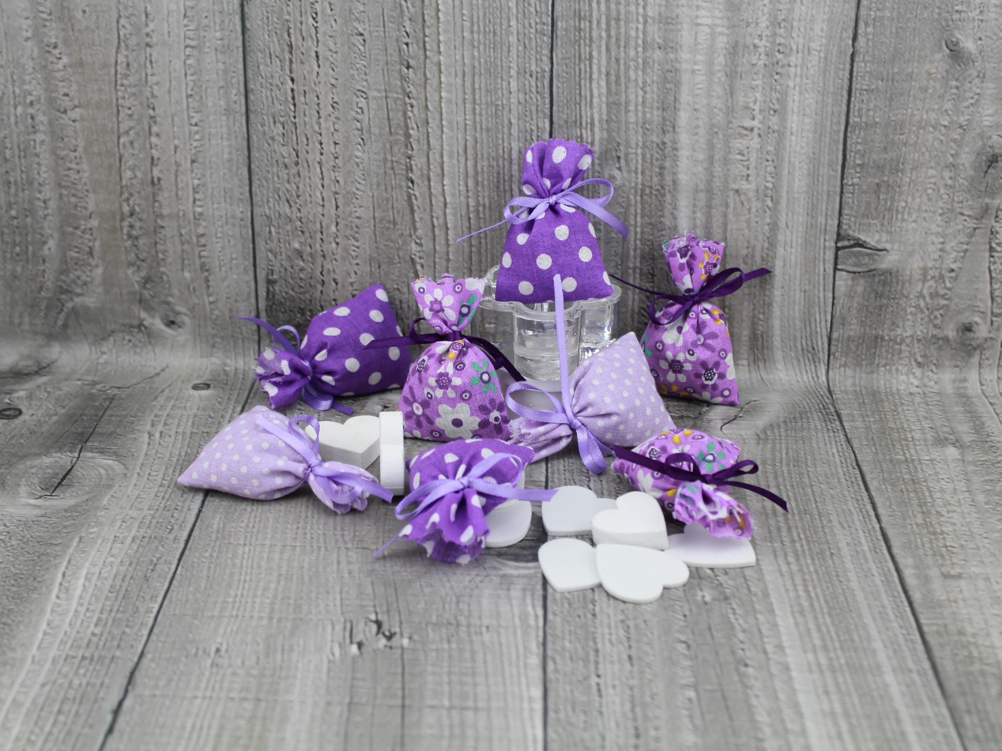Sáčky vonné levandulové mix fialový
