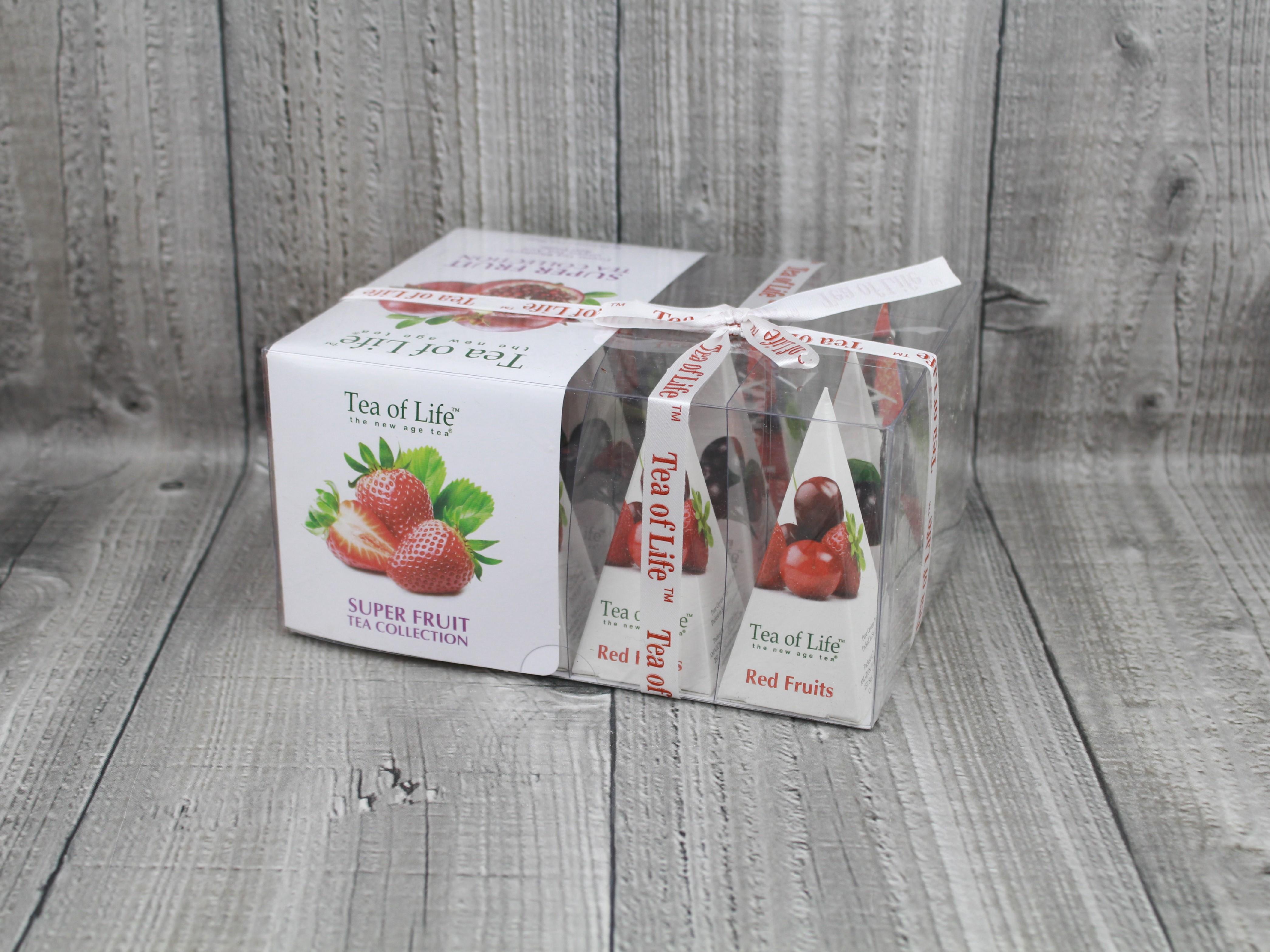 Čaje ovocné v dárkovém balení 12ks