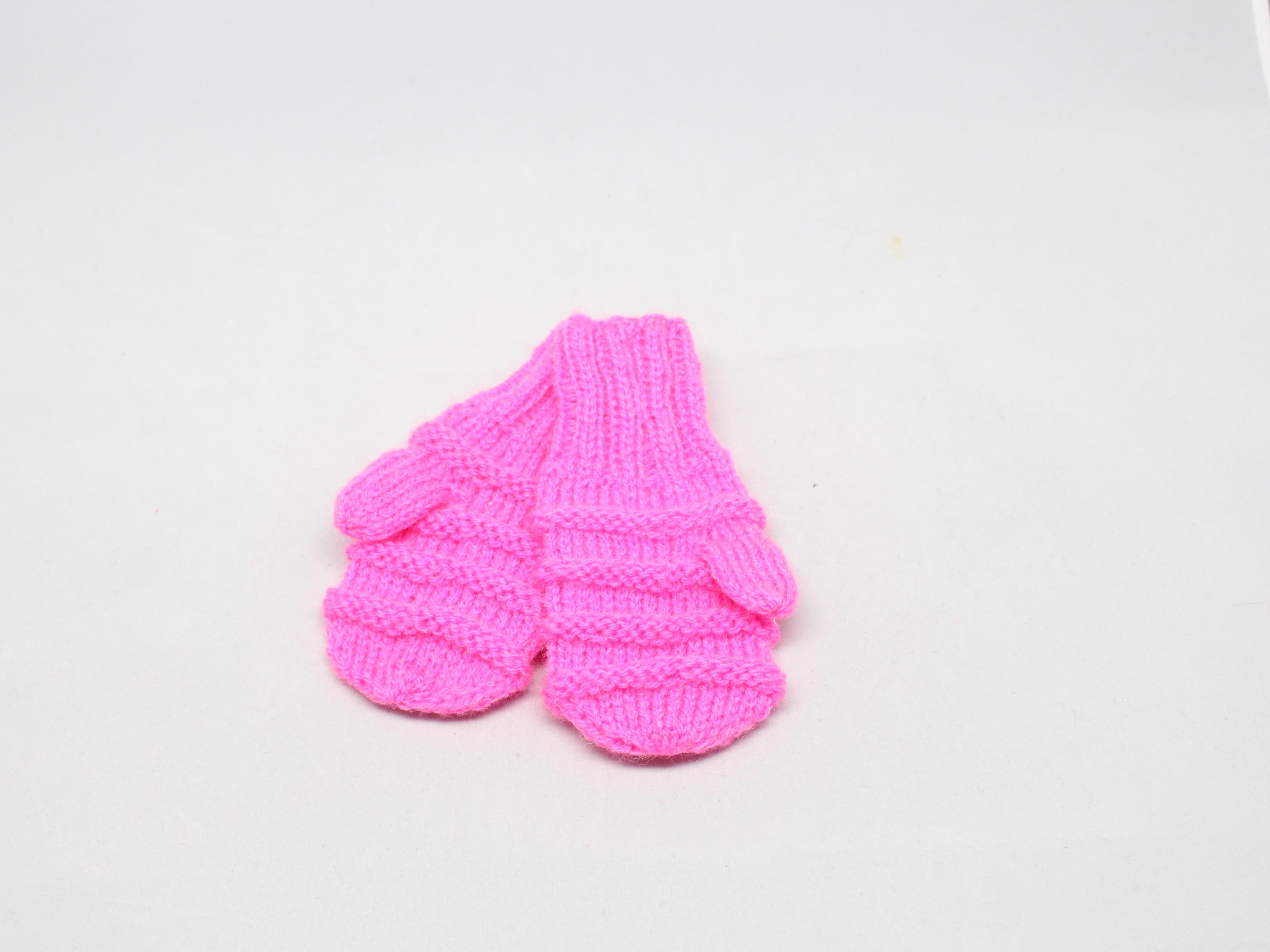 Rukavice dětské Barva: Růžová