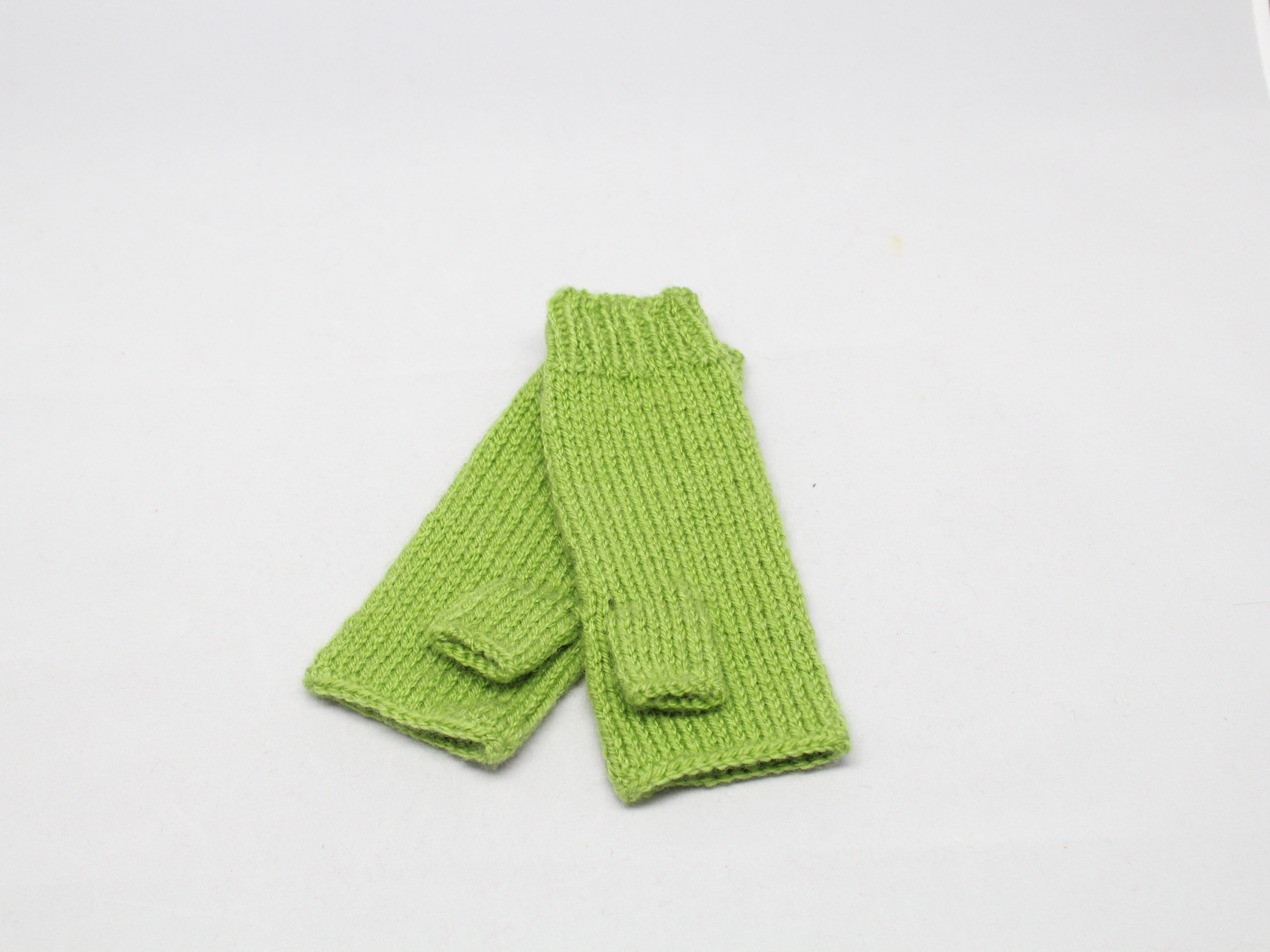 Návleky volné prsty Barva: Zelená světlá