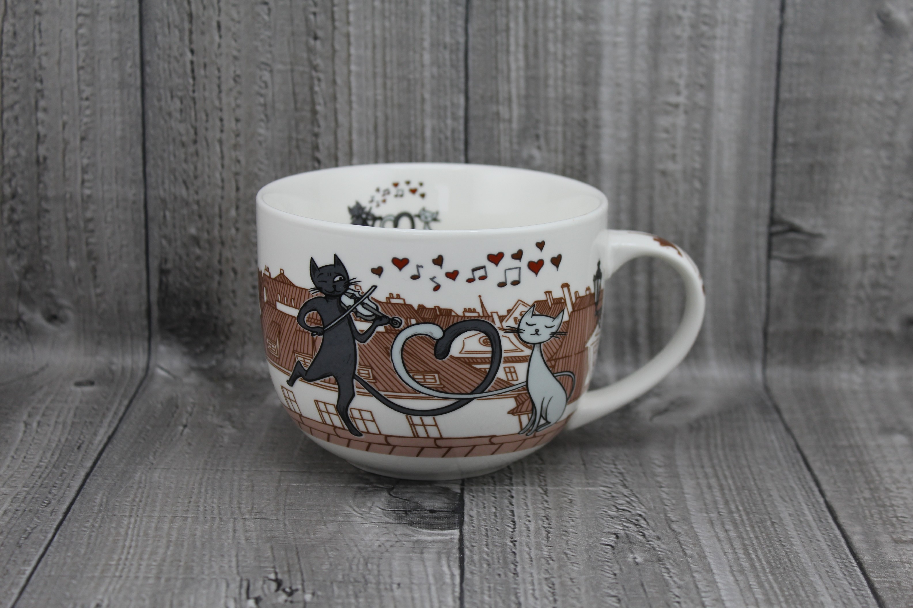 Hrnek porcelán kočky 0,5l