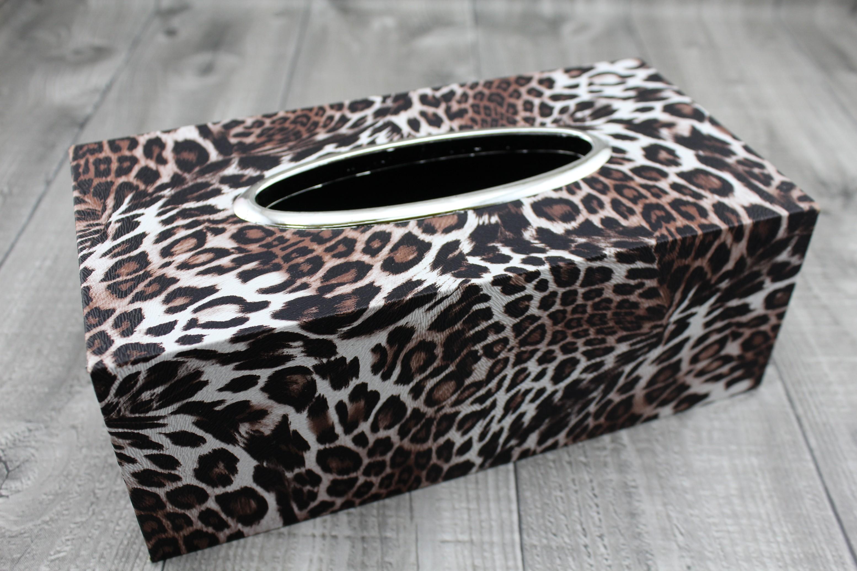 Krabice na kapesníky-gepard