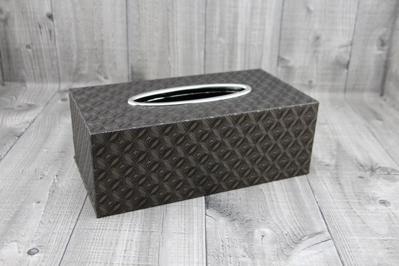 Krabice na kapesníky-hnědá