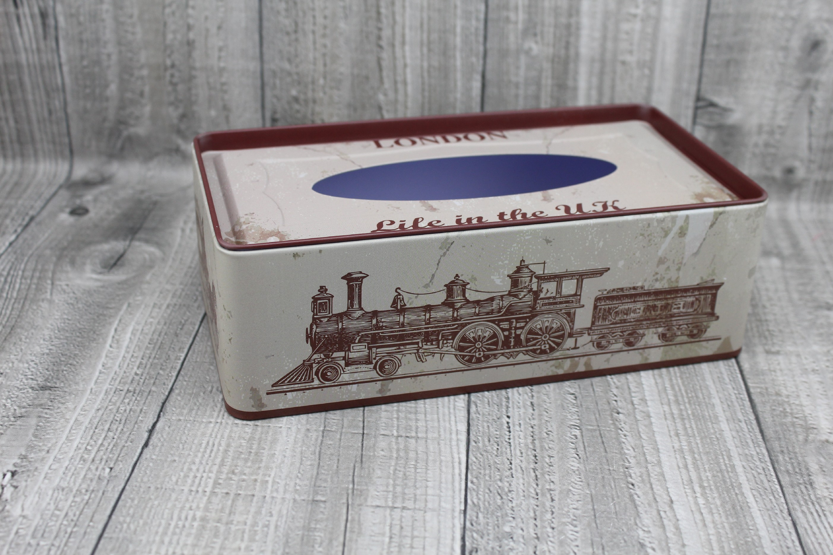 Krabice na kapesníky-retro počet kusů: včetně kapesníčků