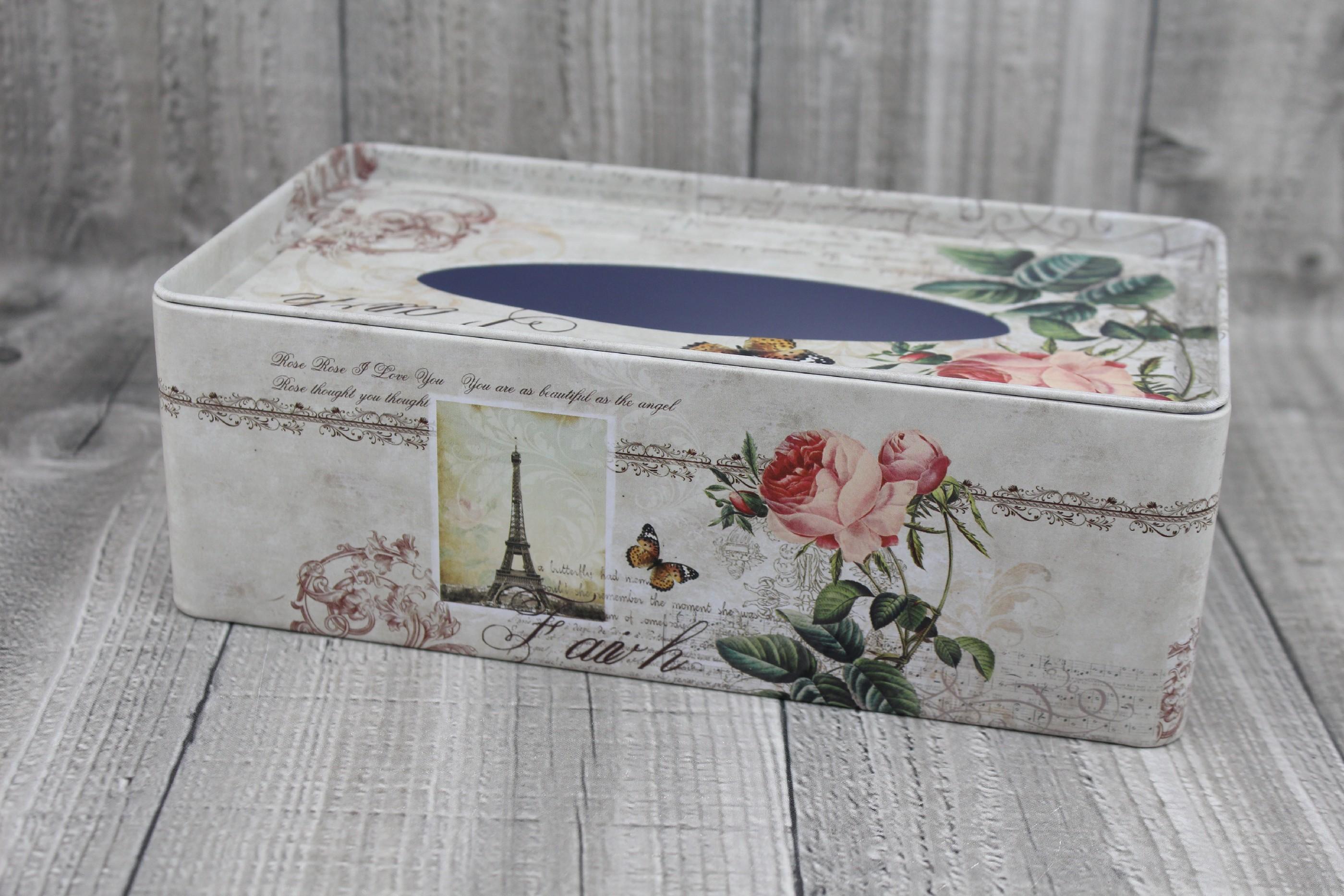 Krabice na kapesníky-Paříž počet kusů: včetně kapesníčků