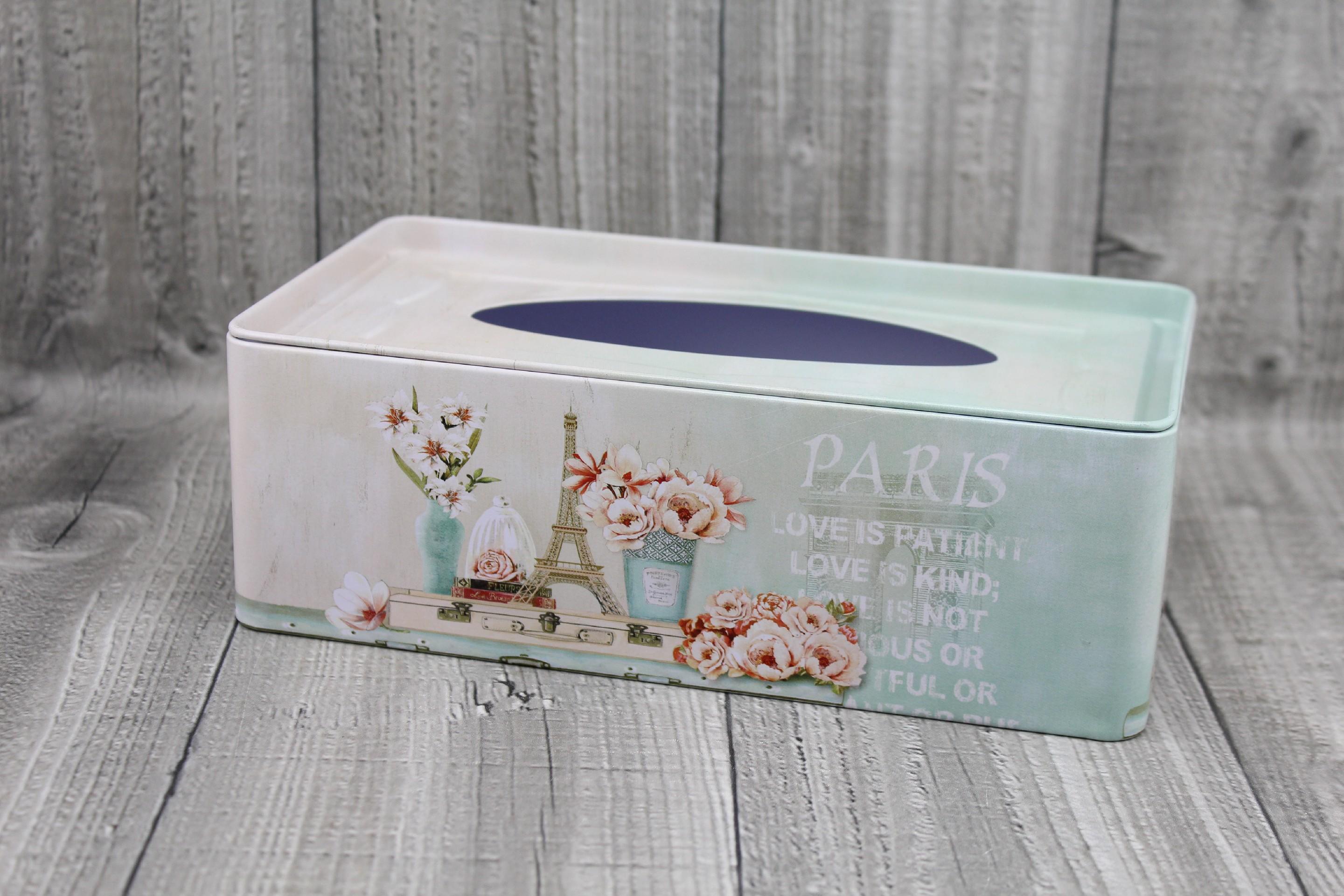 Krabice na kapesníky-Paris počet kusů: včetně kapesníčků