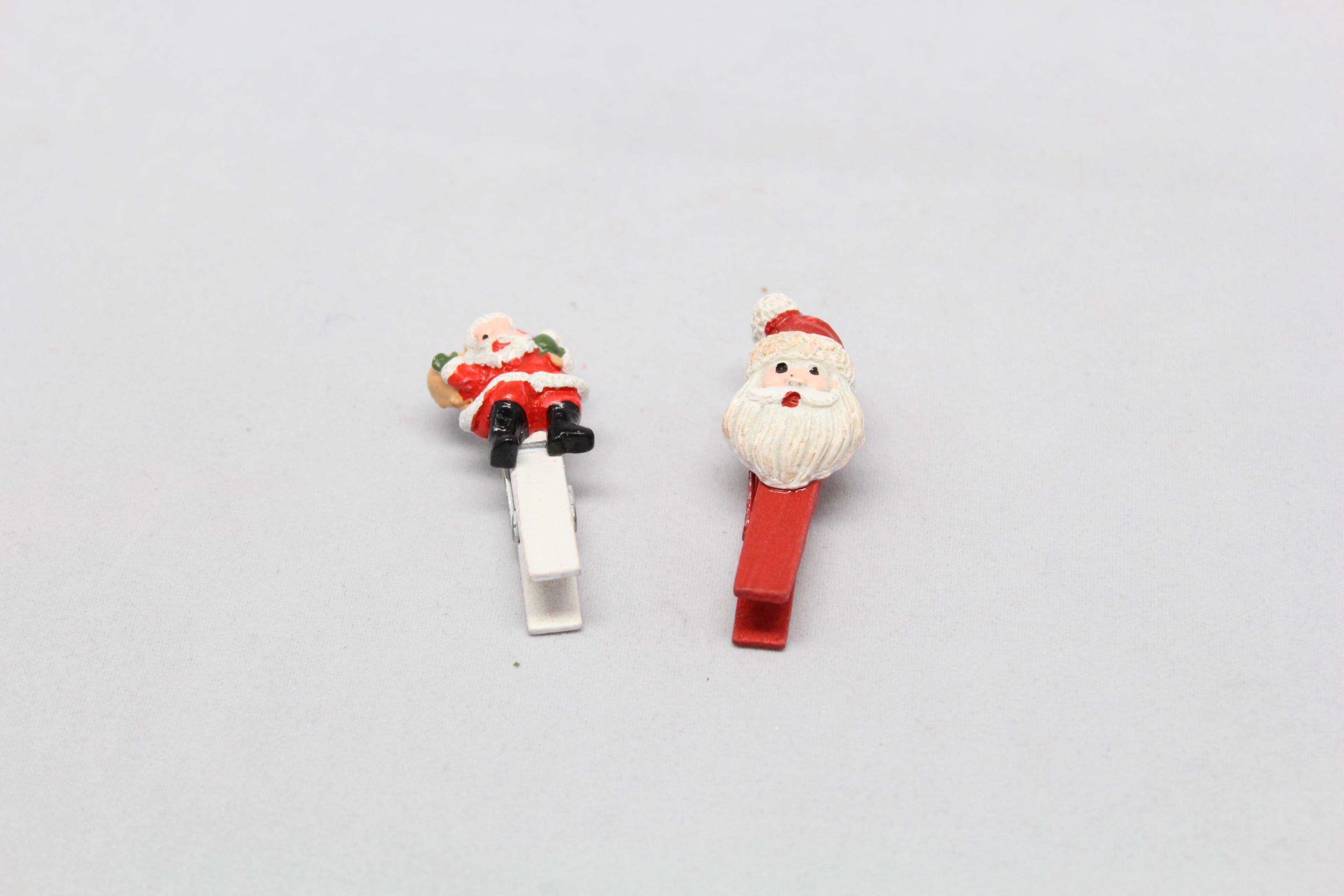 Kolíček vánoční motiv: Santa