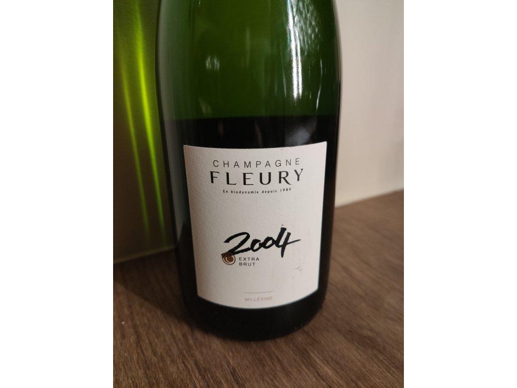 Champagne Fleury Millésime Brut 2004