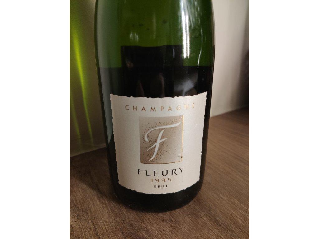 Champagne Fleury Millésime Brut 1995
