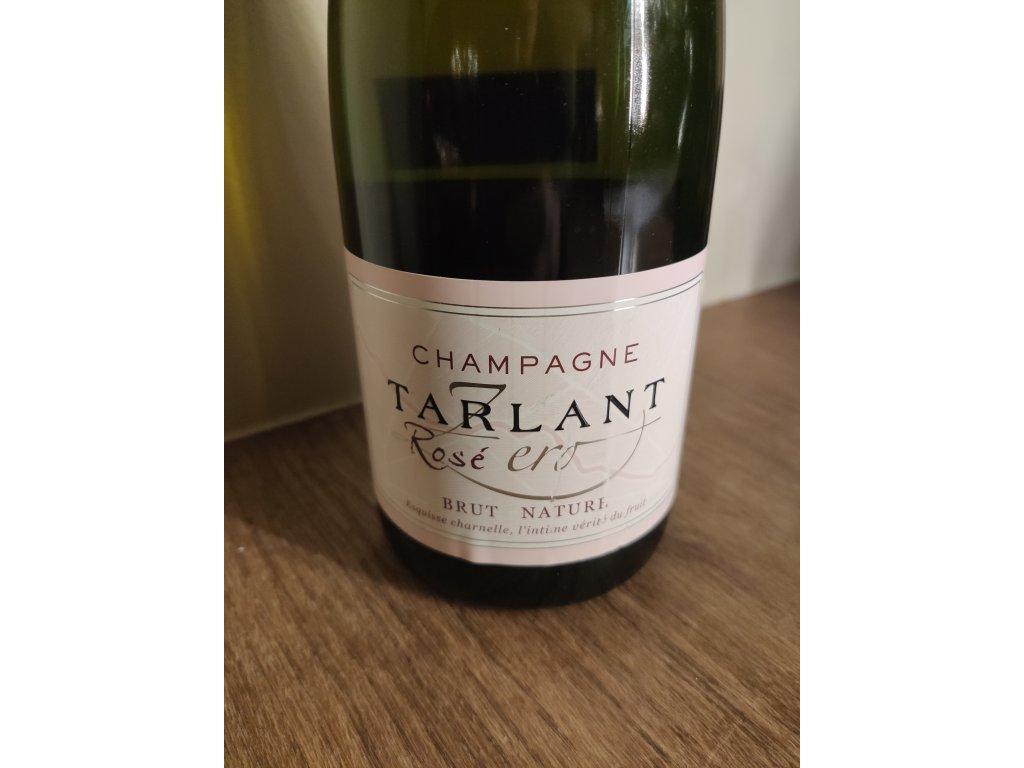 Champagne Tarlant Rose Zero Brut Nature