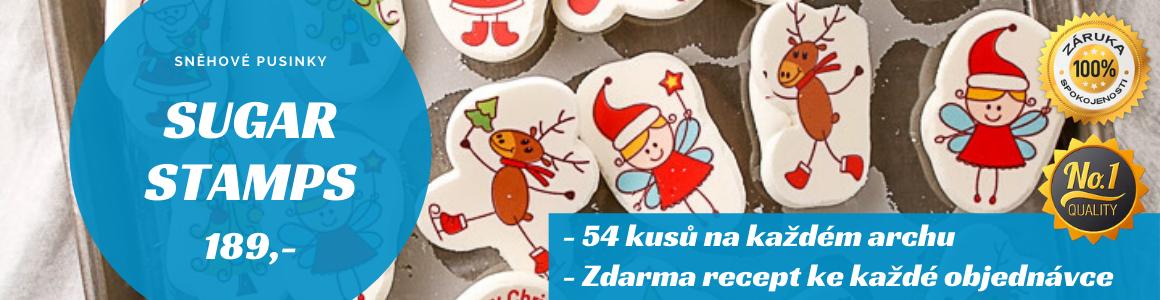 Sugar Stamps - Pusinky