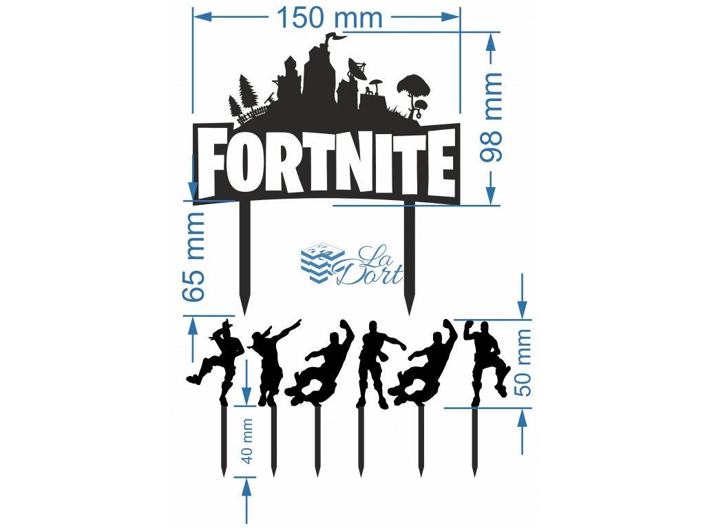 Z0005 Zápich Fortnite