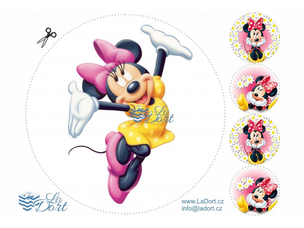 Minnie - Disney - A4 - 00025
