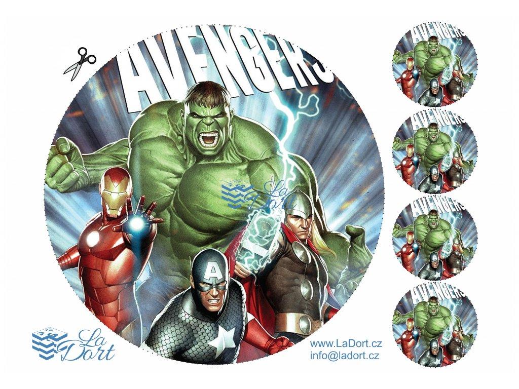 Avengers - Marvel - A4 - 00026