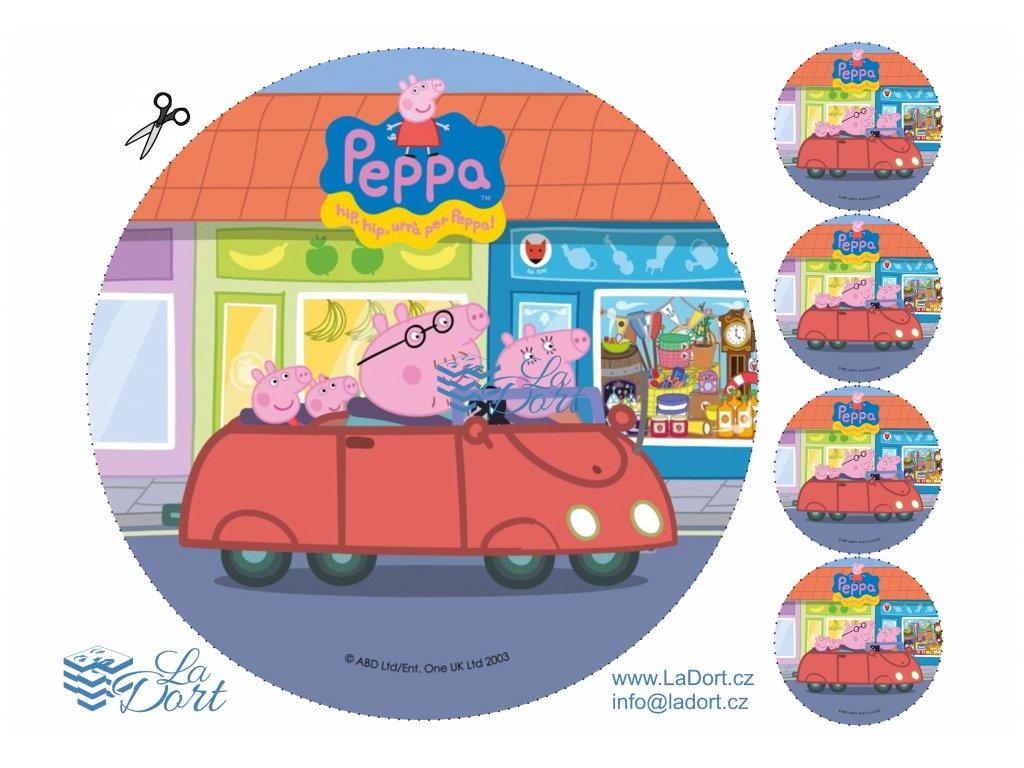 Pig Peppa - Prasátko Peppa - A4 - 00028