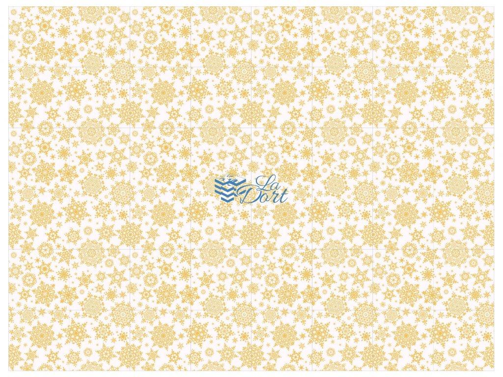 Sugar Stamps - A4 - Vánoce - nejméně 48 ks na archu - 00032