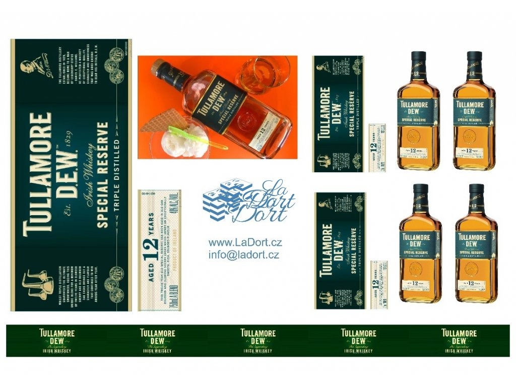 Tullamore Dew - Special Reserve 12 let - A4 - 00042