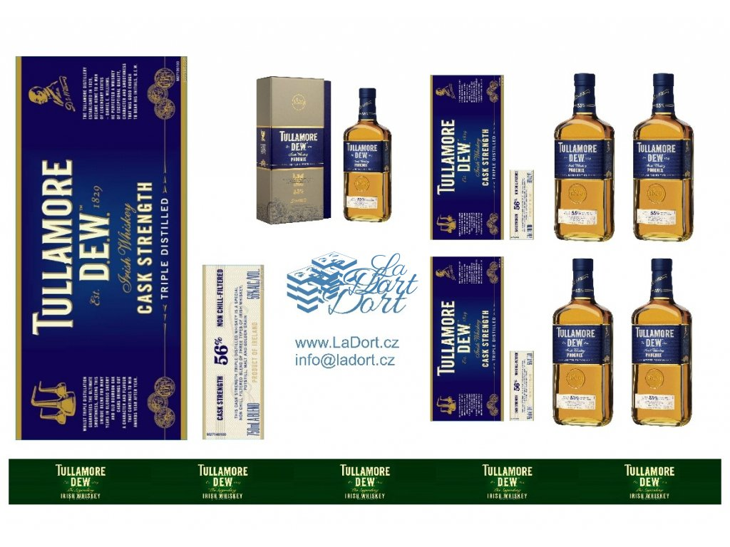 Tullamore Dew - Cask Strenght - A4 - 00044