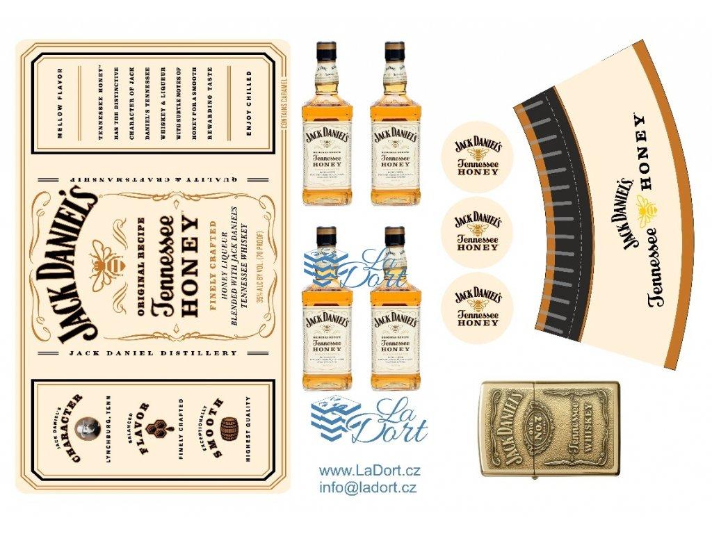 Jack Daniel's -Honey - A4 - 00049