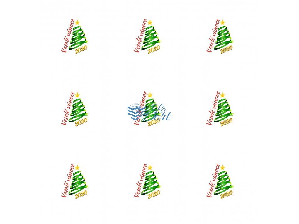 Sugar Stamps - A4 - Nový rok - 48 ks na archu - 00052