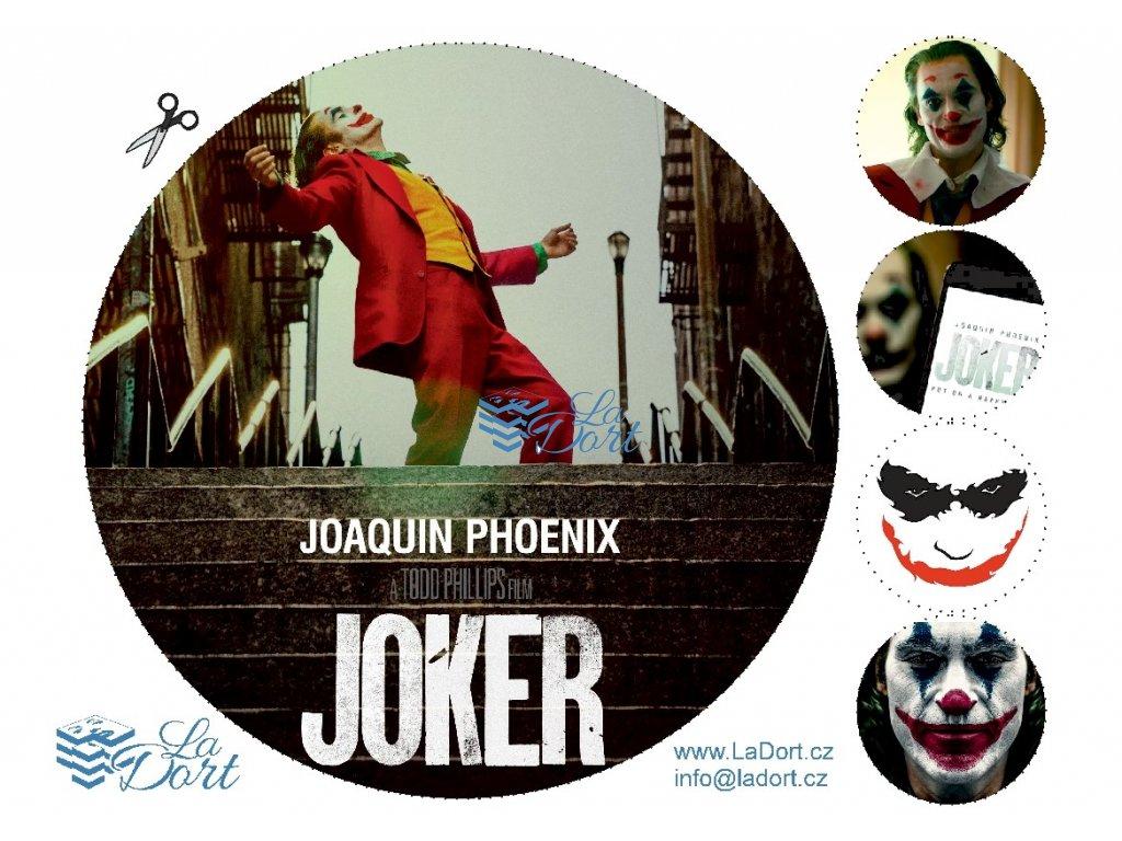 Joker - Filmový horor - A4 - 00075