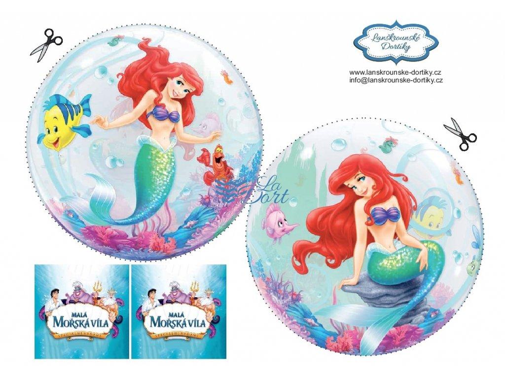 Malá mořská víla - The Little Mermaid - A4 - 00077