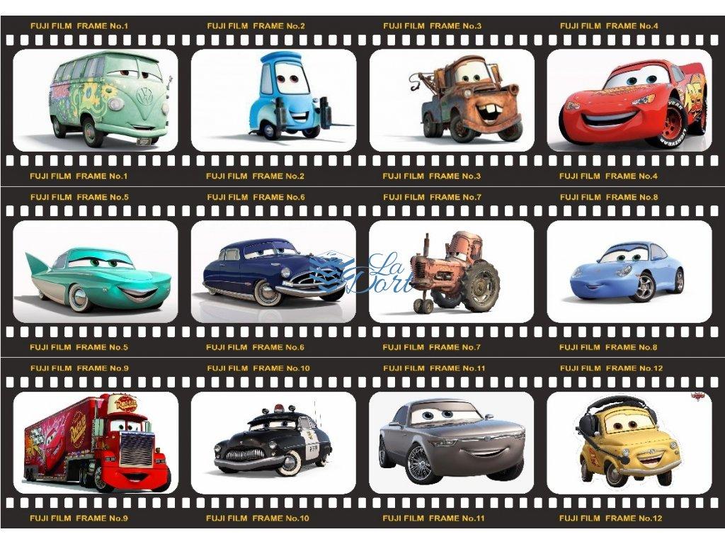 Auta - The Cars - A4 - 00081